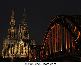 Lights of cologne - The most popular landmarks of...