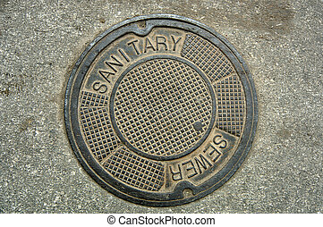 Manhole Cover (12MP camera).