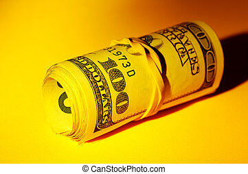 Money Roll With Creative Lighting