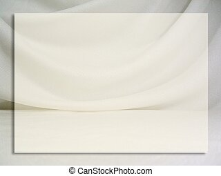 Fabric Frame - A draped fabric frame/background