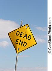 dead end (vertical version)