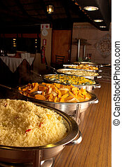 Food #18 - Buffet line at a wedding reception