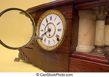 Antique clock 1 - A chiming mantle clock made in the 1890's