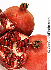 Pomegranates 2 - Close-up on pomegranats
