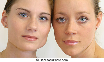 Beautiful faces - Pure fresh faces fit for any ad or health...