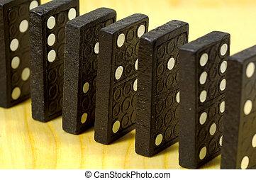 Dominoes - Standing Dominoes