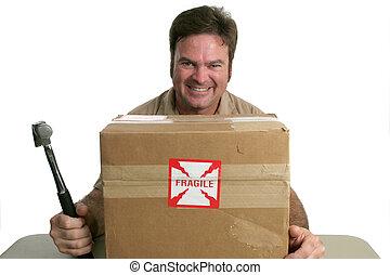 Evil Delivery Man