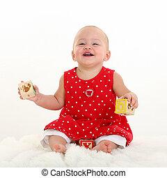 Baby Girl Stork Bite - Beautiful baby Girl with Stork Bite...