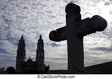 cementerio, iglesia