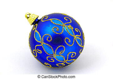 Christmas Ornament - Blue Christmas Ornament