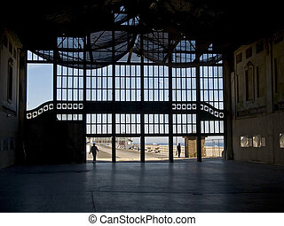 Old Casino Interio - This is a shot of the interior of the...