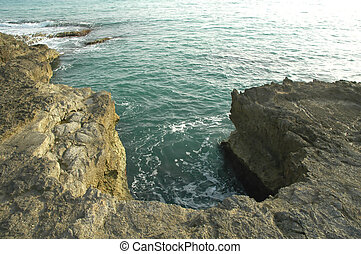 Sicilian Coast4 - Sicilian rocks