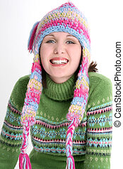 Teen Girl Winter