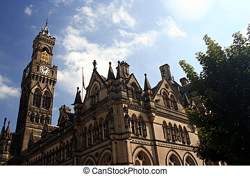 City Hall - Bradford City Hall - West Yorkshire, UK