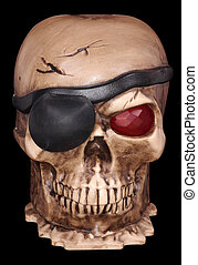 Pirates Skull - Photo of a Pirates Skull - Halloween...