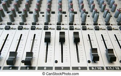 Audio Mixing panel 2 - Audio Mixing panel