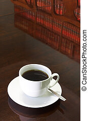 Legal Coffee Cup #1 - White Coffee cup with Legal Library on...