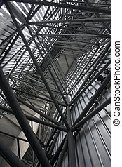 Structure - Tubular structure of modern building