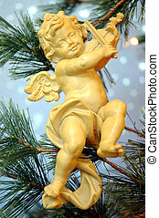 Cherub - Angel Christmas Tree Ornament