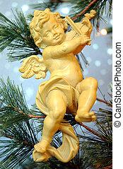 Cherub - Angel Christmas Tree Ornament