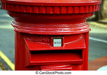 British Postbox Designed in 1952