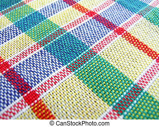 Multicolored textile