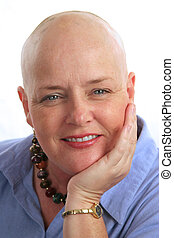 Beautiful Survivor - A portrait of a beautiful cancer...