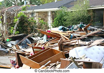 Hurricane Katrina2 - flod and wind damage