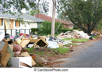 Hurricane katrina5 - flood and wind damage (photo request)...