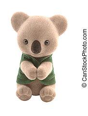 koala - cute smiling baby teddy bear