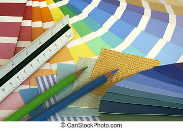 Interior Designing - Some tools of an interior designer -...