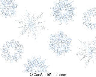 Christmas Bckgrnd 13 - Christmas background of blue...