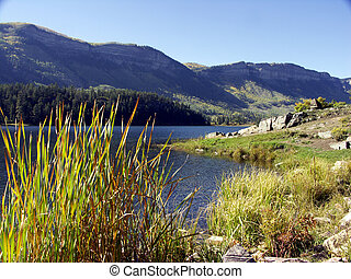 Mountain Lake - Mountain lake in the Colorado Rockies