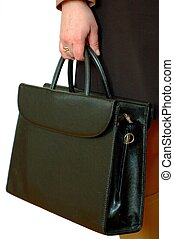 Business Woman - Business woman with bag