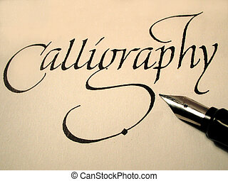 calligraphy1 - calligraphy pen and writing