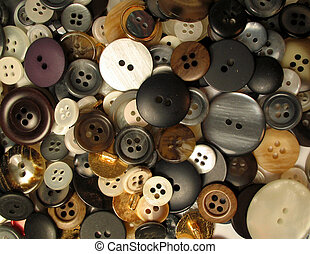 buttons 1 - assortment of buttons