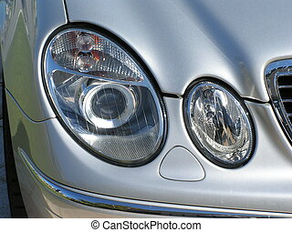 SLK Headlights - Merc SLK Headlights
