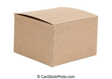 Cardboard Box - Isolated Cardboard Box