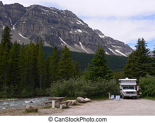 Creekside Campsite - Campsite at Mosquito Creek Campground,...