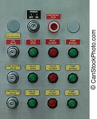 Control Panel - Photographed locally from a wall panel...
