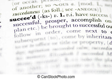 Succeed - Dictionary definition of succeed