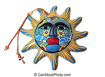 sun god - Mexican sun God