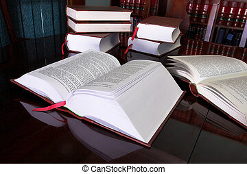Legal books #7 - Legal books on table - South African Law...