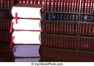 Legal books #15 - Legal books on table - South African Law...