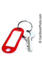 Key with Label - Moden key overwhite with label