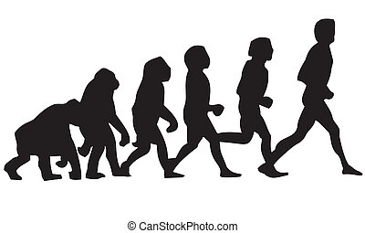 human evolution - Cro-Magnon, Lucy, Neanderthal, biped,...