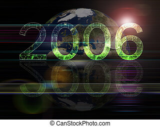2006 Year background