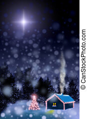 Christmas star - Waiting for a miracle The night before...