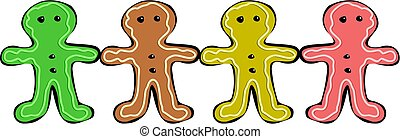 gingerbread - men