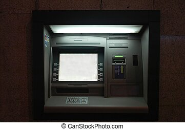 cashpoint - Credit card machine